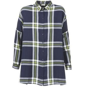 衣服 女士 衬衣/长袖衬衫 Noisy May ERIK 海蓝色
