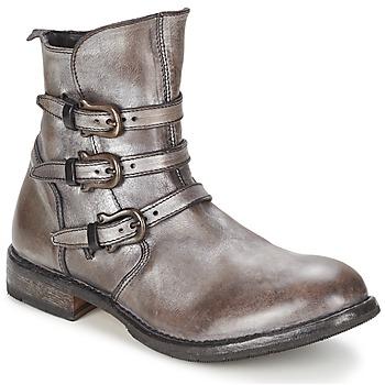 鞋子 女士 短筒靴 Moma CUSNARGE 银色