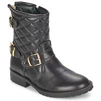 鞋子 女孩 短筒靴 Hip RAVUTE 黑色