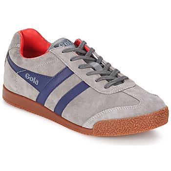 鞋子 男士 球鞋基本款 Gola HARRIER 灰色 / 海蓝色 / 红色