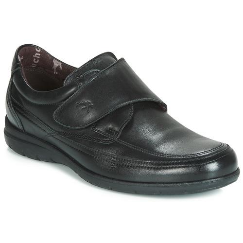 鞋子 男士 德比 Fluchos 富乐驰 LUCA 黑色