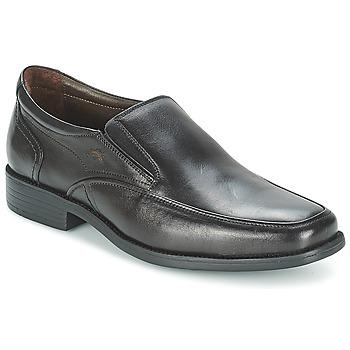 鞋子 男士 皮便鞋 Fluchos 富乐驰 RAPHAEL 黑色