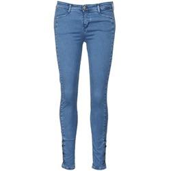 衣服 女士 紧身牛仔裤 Acquaverde ALFIE 蓝色 / 米色