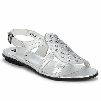 鞋子 女士 凉鞋 Fidji BARRETA 银灰色
