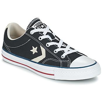 鞋子 球鞋基本款 Converse 匡威 STAR PLAYER OX 黑色