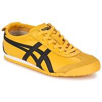 鞋子 球鞋基本款 Onitsuka Tiger 鬼冢虎 MEXICO 66 黄色 / 黑色