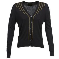 衣服 女士 羊毛开衫 Chipie BERENICE 黑色