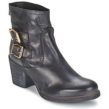 鞋子 女士 短靴 Meline LODU 黑色