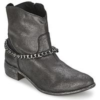 鞋子 女士 短筒靴 Meline VUTIO 黑色 / 金属光泽
