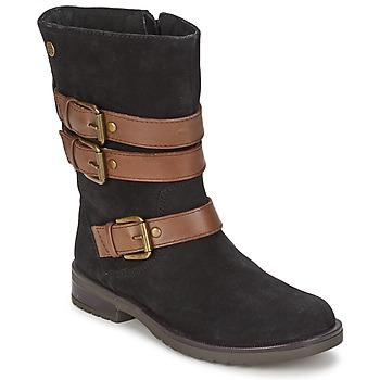 鞋子 女孩 都市靴 Gioseppo HALIFAX 黑色