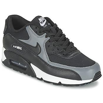 鞋子 女士 球鞋基本款 Nike 耐克 AIR MAX 90 W 黑色 / 灰色