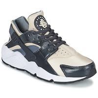 鞋子 女士 球鞋基本款 耐克Nike AIR HUARACHE RUN W 灰色 / 米色