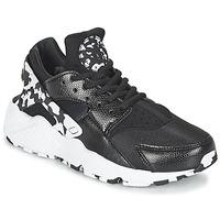 鞋子 女士 球鞋基本款 Nike 耐克 AIR HUARACHE RUN SE W 黑色 / 白色