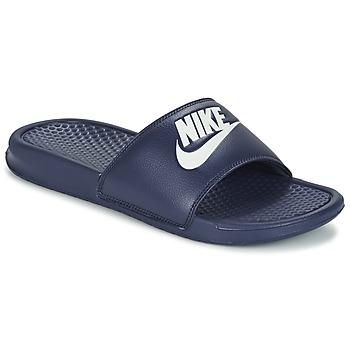 鞋子 男士 拖鞋 Nike 耐克 BENASSI JDI 蓝色 / 白色