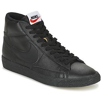 鞋子 男士 高帮鞋 Nike 耐克 BLAZER MID 黑色