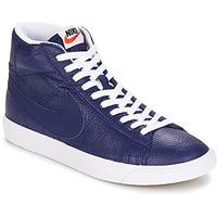 鞋子 男士 高帮鞋 Nike 耐克 BLAZER MID 蓝色