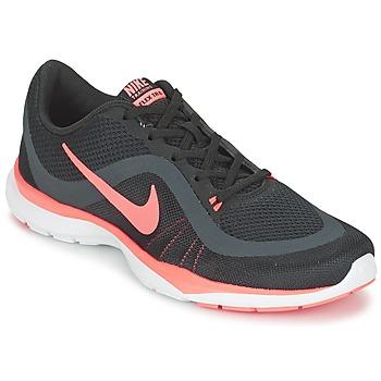 鞋子 女士 训练鞋 耐克Nike FLEX TRAINER 6 W 黑色 / 玫瑰色