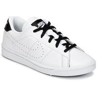 鞋子 男孩 球鞋基本款 Nike 耐克 TENNIS CLASSIC PREMIUM PRESCHOOL 白色 / 黑色