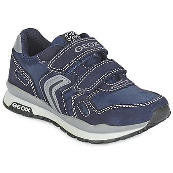 鞋子 女孩 球鞋基本款 Geox 健乐士 J PAVEL 蓝色