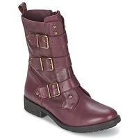 鞋子 女士 短筒靴 Ikks RANGER-COLLECTOR-BOUCLE 波尔多红