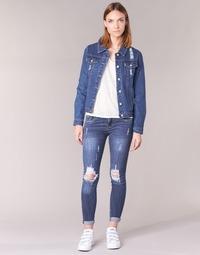 衣服 女士 紧身牛仔裤 Yurban FOUNOLE 蓝色 / Edium