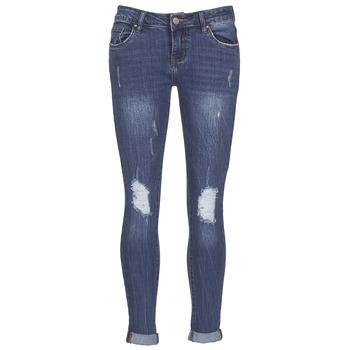 衣服 女士 紧身牛仔裤 Yurban IFOUNOLE 蓝色 / Edium