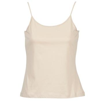 衣服 女士 无领短袖套衫/无袖T恤 B.O.T.D FAGALOTTE 裸色
