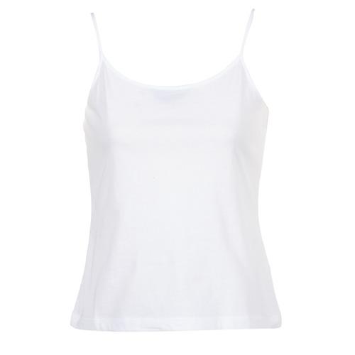 衣服 女士 无领短袖套衫/无袖T恤 B.O.T.D FAGALOTTE 白色