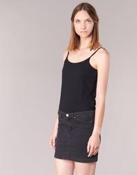 衣服 女士 无领短袖套衫/无袖T恤 B.O.T.D FAGALOTTE 黑色