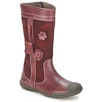 鞋子 女孩 都市靴 Mod'8 KLAN 波尔多红