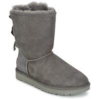 鞋子 女士 短筒靴 UGG BAILEY BOW II 灰色