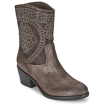 鞋子 女士 短靴 Now PIOMBO 灰色