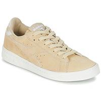 鞋子 女士 球鞋基本款 Diadora 迪亚多纳 GAME LOW SUEDE 米色