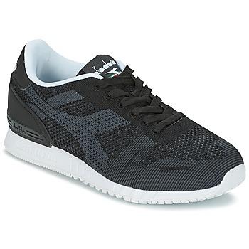 鞋子 球鞋基本款 Diadora 迪亚多纳 TITAN WEAVE 黑色
