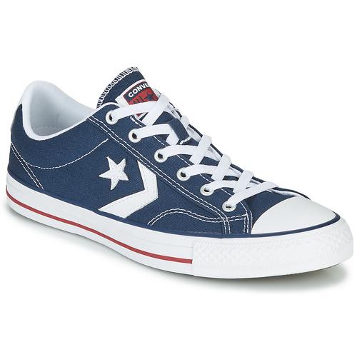 鞋子 球鞋基本款 Converse 匡威 STAR PLAYER CORE CANVAS OX 海蓝色 / 白色
