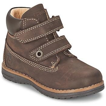 鞋子 男孩 短筒靴 Primigi ASPY 1 棕色