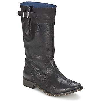 鞋子 女士 都市靴 Schmoove SANDINISTA BOOTS 黑色 / 金属银
