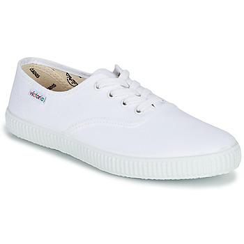 鞋子 球鞋基本款 Victoria 维多利亚 INGLESA LONA 白色