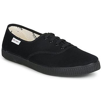 鞋子 球鞋基本款 Victoria 维多利亚 INGLESA LONA PISO 黑色