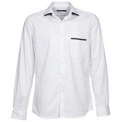 衣服 男士 长袖衬衫 Pierre Cardin 皮尔卡丹 ANTOINE 白色