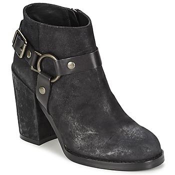 鞋子 女士 短靴 Ash 艾熙 FALCON 黑色