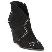 鞋子 女士 短靴 Ash 艾熙 JESSICA 黑色