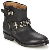 鞋子 女士 短筒靴 Ash 艾熙 VICK 黑色