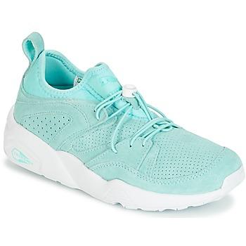 鞋子 女士 球鞋基本款 Puma 彪马 BLAZE OF GLORY SOFT WNS 蓝色 / 白色