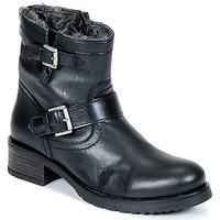 鞋子 女士 短筒靴 Buffalo ES-30493-MEXICO 黑色