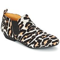 鞋子 女士 短筒靴 Buffalo SASSY Leopard