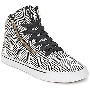 鞋子 女士 高帮鞋 Supra CUTTLER 白色 / 黑色
