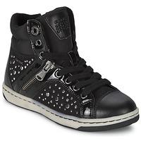 鞋子 女孩 高帮鞋 Geox 健乐士 CREAMY C 黑色