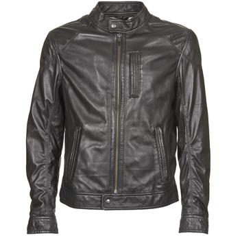 衣服 男士 皮夹克/ 人造皮革夹克 Oakwood 60835-501 黑色