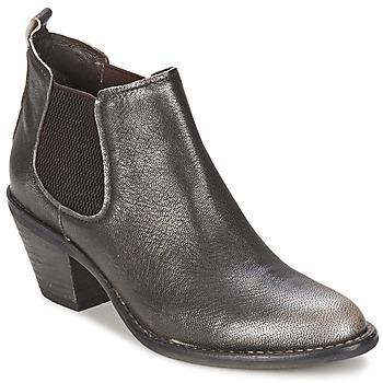 鞋子 女士 短靴 Un Matin d'Ete 夏日晨光 NIPSY 煤黑色